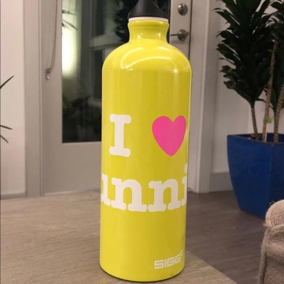 Sigg Lululemon water bottle